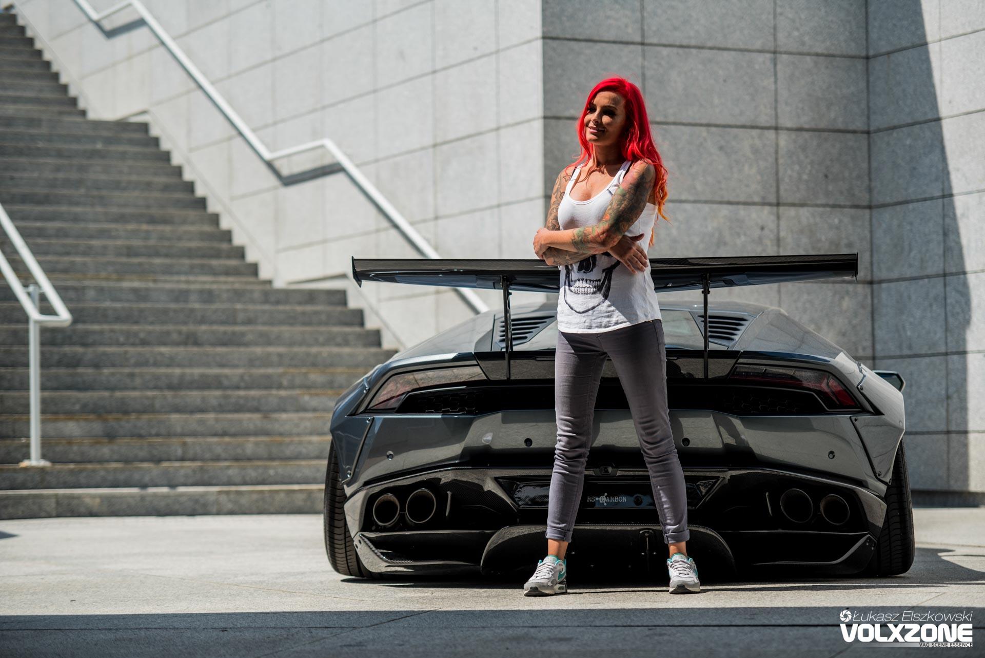 Lexy Roxx Carporn Lamborghini Huracan Volxzone