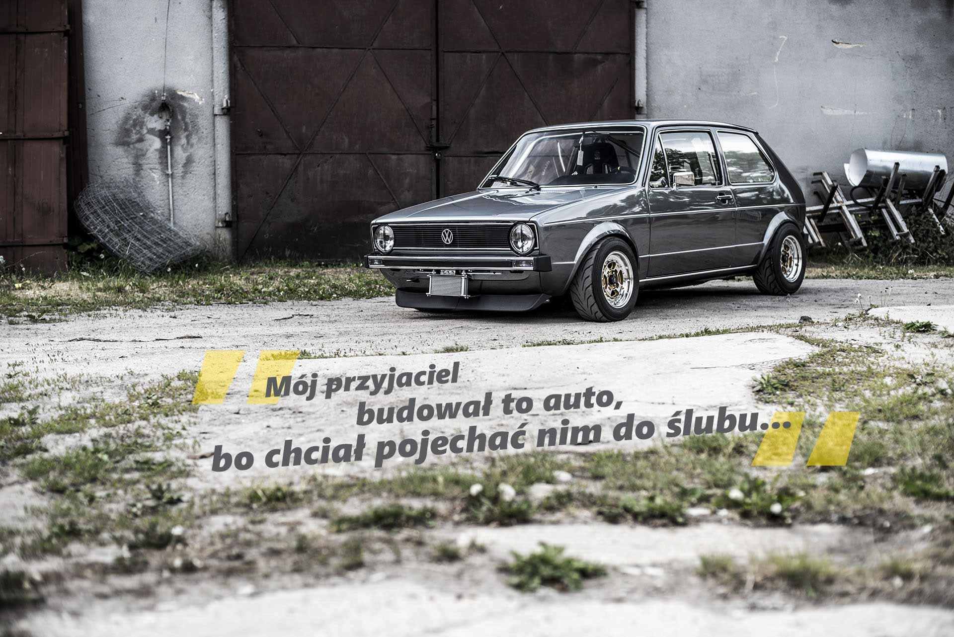 VW Golf MK1 Racer