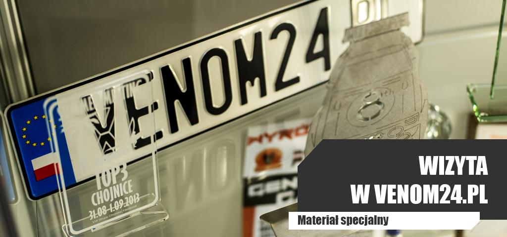 Wizyta w VENOM24.PL- Materiał Specjalny