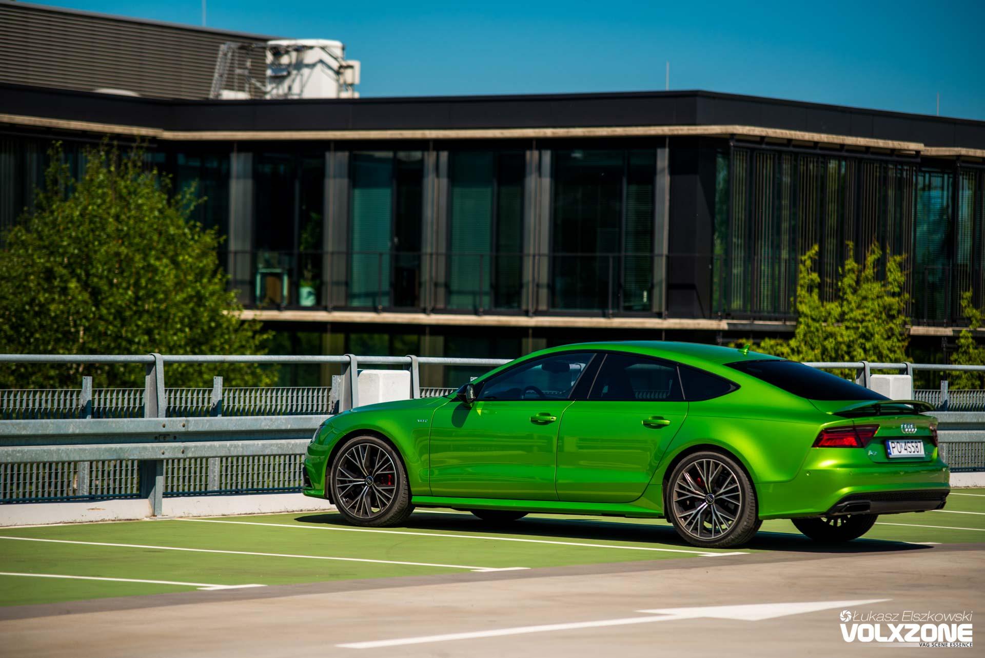 Greenlight Test Audi A7 3 0 Tdi Volxzone