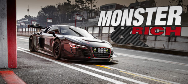 Audi R8 Potter & Rich Recon MC8 LMS Ultra V10