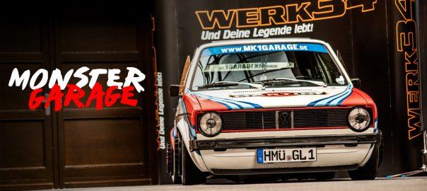 VW Golf MK1 GARAGE WERK34 MARTINI