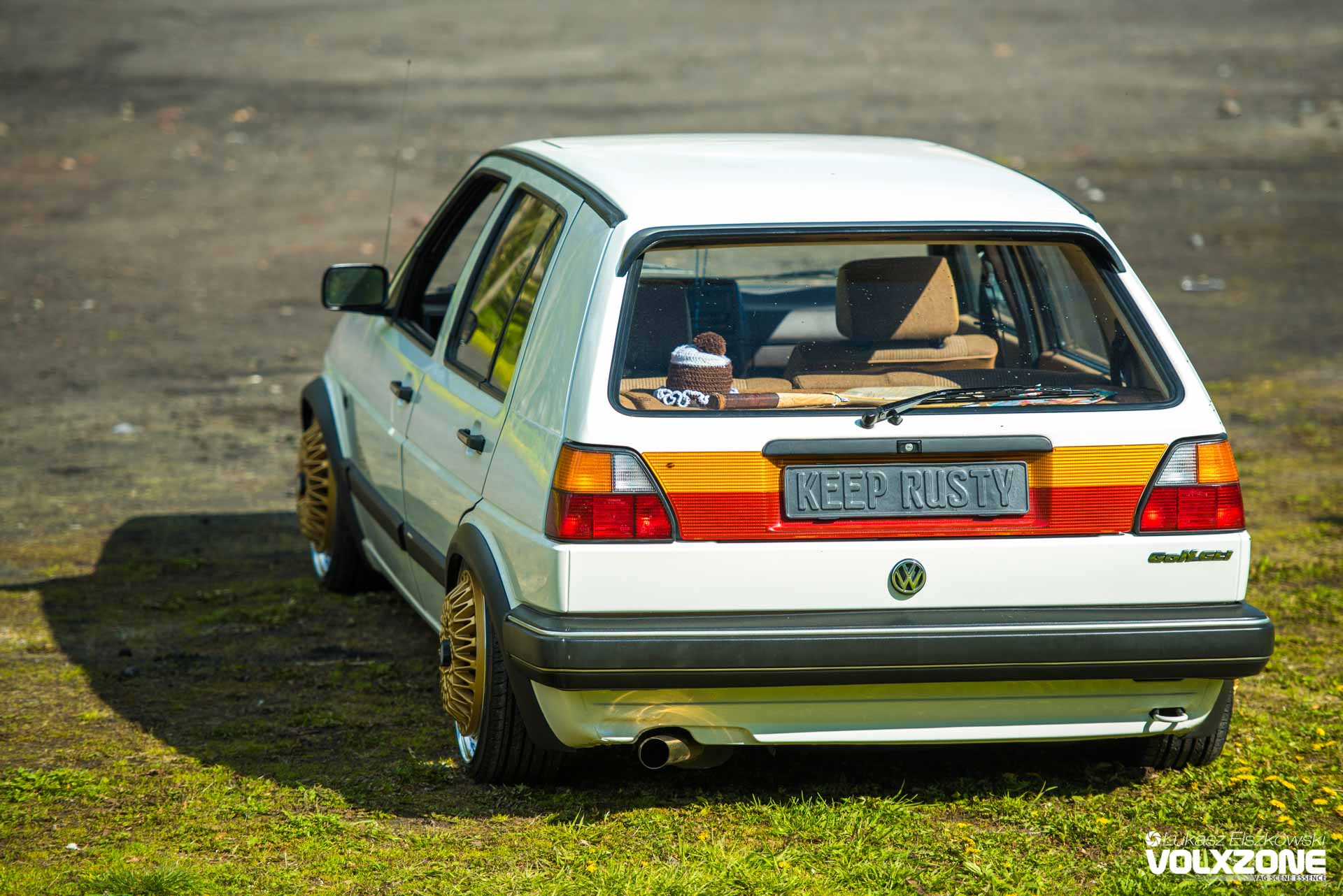 VW Golf Mk2 Static KeeP RusTy