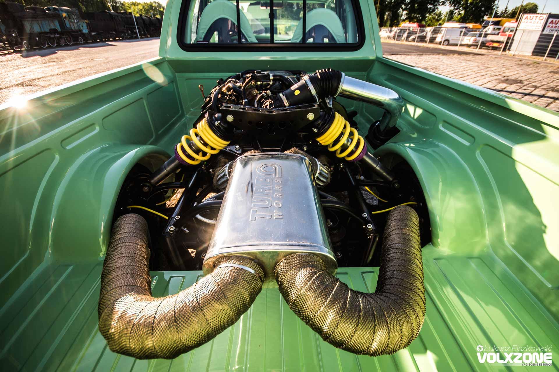 VW Caddy Mk1 V8 RWD FLY Gagare