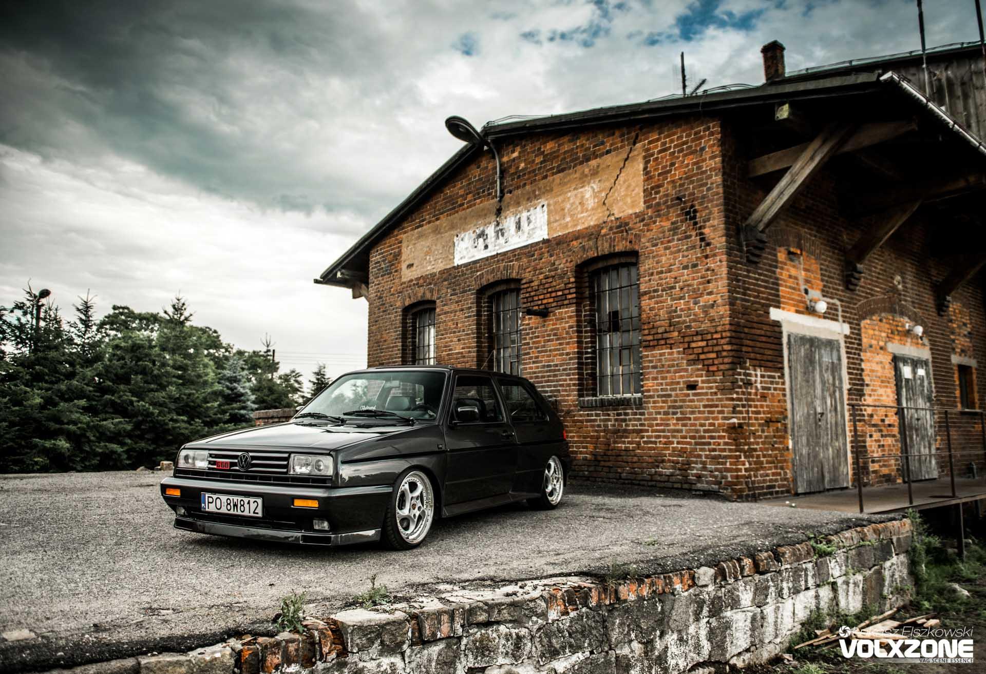 VW Golf MK2 Rallye G60