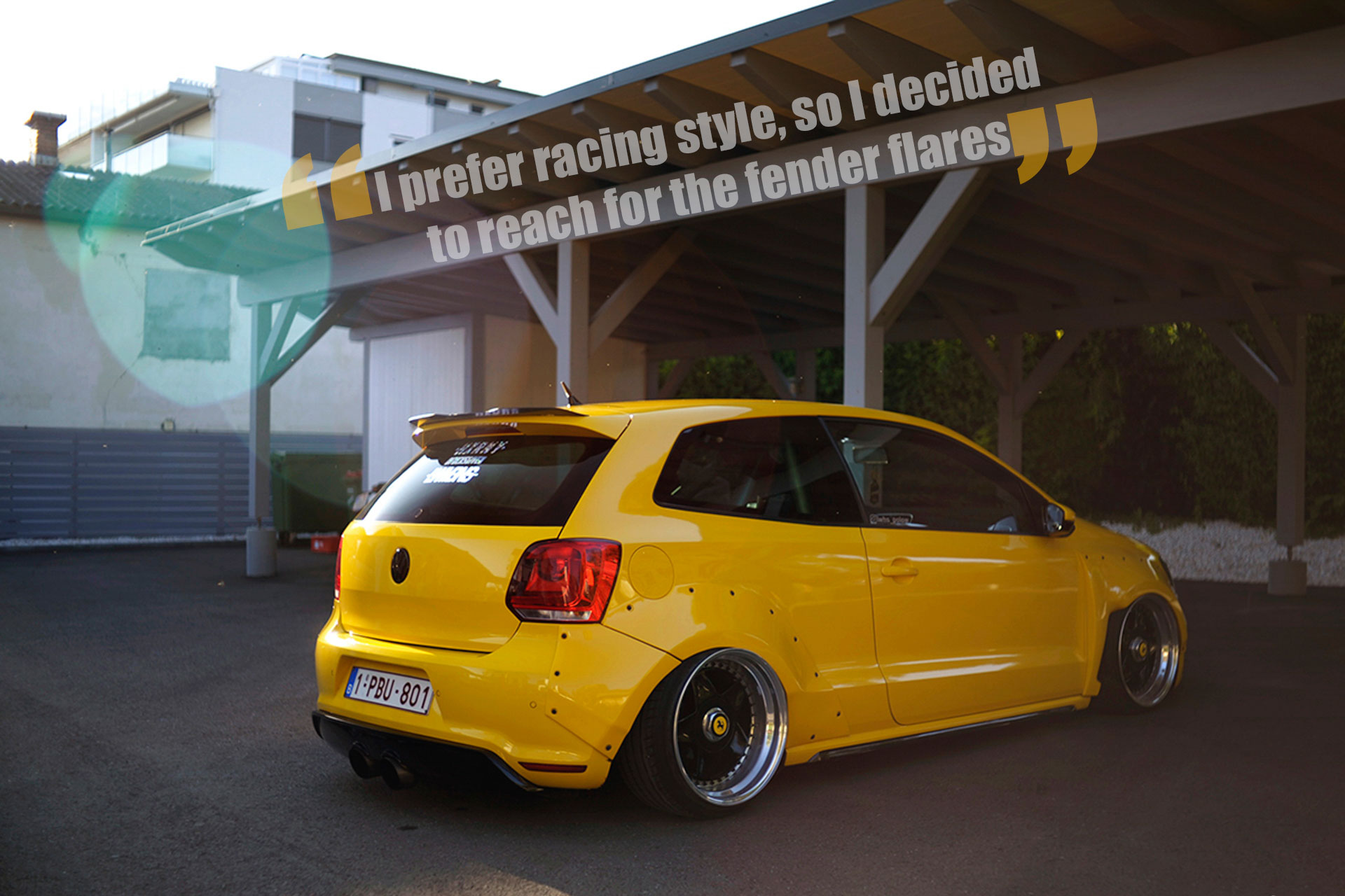 vw polo gti 6r rocket bunny volxzone. Black Bedroom Furniture Sets. Home Design Ideas