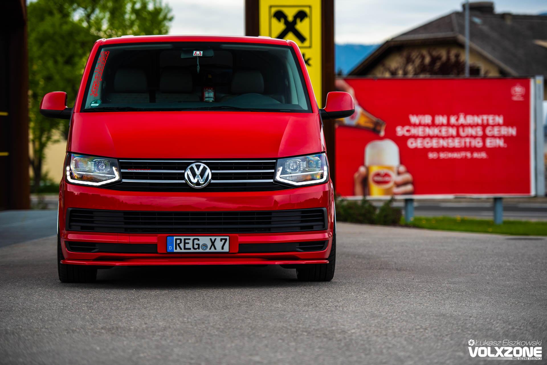 Volkswagen T5 Gepfeffert