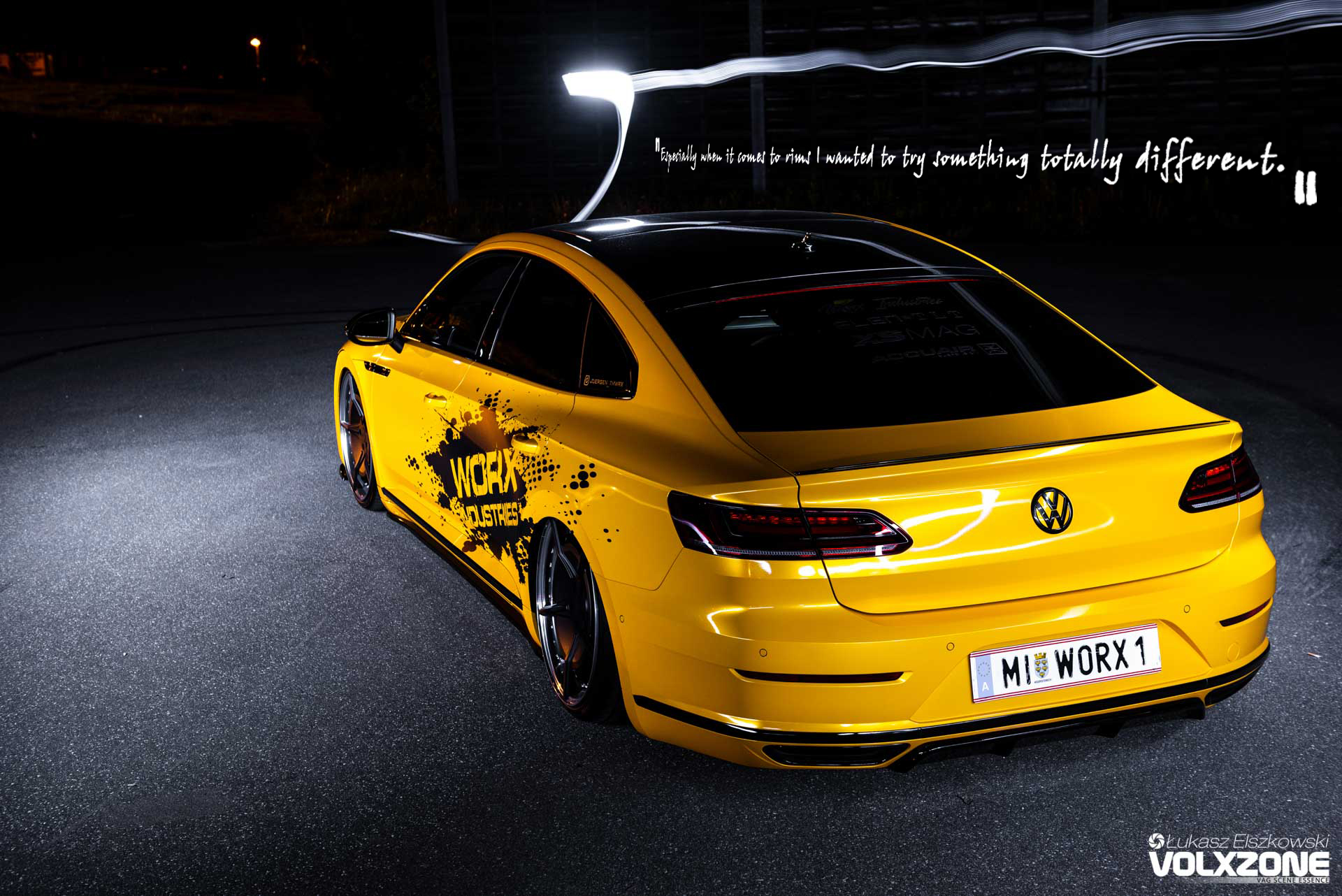 VW Arteon AirREX Accuair