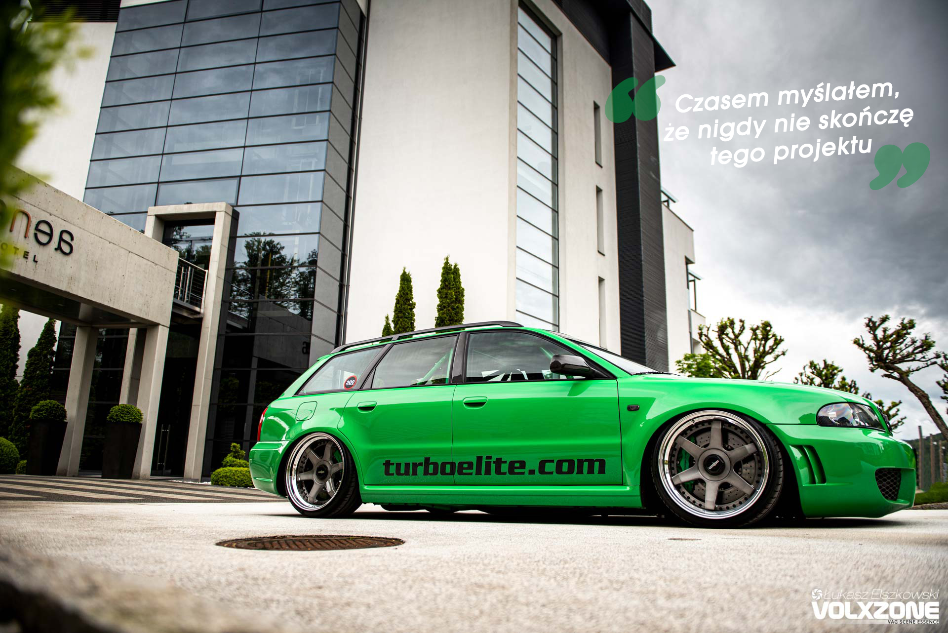 Audi RS4 B5 Hulk Turboelite